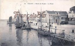 (62) Calais - Bassin Du Paradis - Le Minck - Sailtboats Voiliers - 2 SCANS - Calais