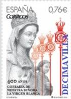 ESPAÑA, SPAIN, AÑO 2014, EDIFIL 4903, 400 ANIV. COFRADIA DE LA VIRGEN BLANCA, CATAL. 1,52 EUROS - 2011-... Ongebruikt
