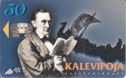 "ESTONIA - Estonian National Year ""Kalevipoeg""(50 Units)/Viking Ship, Tirage 50000, 01/97, Used - Estonia"
