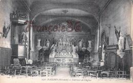 (33) Mazeres - Intérieur De L'Eglise - 2 SCANS - France
