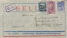 SAO PAULO , 1929 , Brief Nach Heidelberg - Brésil