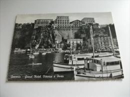 NAVE SHIP GRAND HOTEL VITTORIA E PORTO SORRENTO CANOA - Chiatte, Barconi
