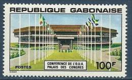 "Gabon YT 376 "" Palais Des Congrès "" 1977 Neuf** - Gabon"