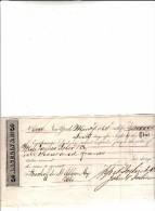 Titolo Cambiario Della A. Iselin & C.° Banchieri A New York Di Francs 10.000 Anno 1868 - Bills Of Exchange