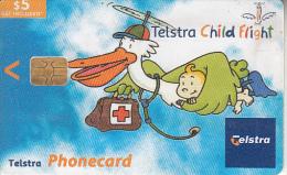 AUSTRALIA(chip) - Telstra Child Flight, Exp.date 31/07//05, Used - Australia