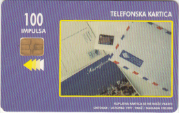 BOSNIA - Envelopes(100 Units), 10/97, Used - Bosnia