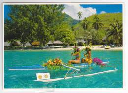 Polynésie Française / Tahiti - Pirogue à Balancier - 949 - Polynésie Française
