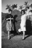 54Cu  Photo Ile Maurice Chez Le Gouverneur Jardin Du Reduit En 1963 (voir Texte Au Verso) - Mauritius