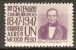 MEXIQUE    -    Aéros  .   PEDRO  MA. ANAYA - Mexique