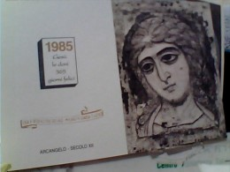 NIGUARDA 1985 CALENDARIO  CARD I N1985 EU17118 - Prigione E Prigionieri