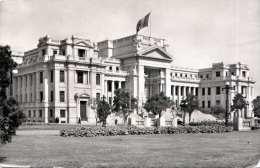 PERU Lima, 2 Sondermarken - Palacio De Justicia, Fotokarte Gel.1956 - Peru