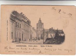 Poperinge, Poperinghe, Petite Place, Eglise St Bertin (pk16697) - Poperinge