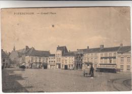 Poperinge, Poperinghe, Grand Place, Ijsventer, Vendeur Glaces (pk16709) - Poperinge