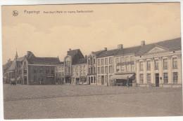 Poperinge, Poperinghe, Noordkant Markt En Ingang Gasthuisstraat (pk16710) - Poperinge