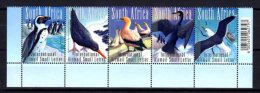 Afrique Du Sud 2010 Oiseaux Série Complète De 5 Timbres Bande Neuf ** 1er Choix - Neufs
