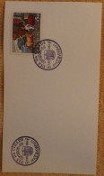 Portugal Postmark - Aemipex 69 -  City Day - Coimbra 1969 - Rainha Santa Isabel - Card - Filatelistische Tentoonstellingen