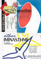 "Buvard :  Lot  De 3  (médecine - Médicaments)  =>  ""Zymolabiase""  +  ""MinAsthme"" + ""IminAsthme"" - Other"