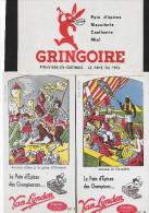 """Buvard :  Lot  De 3  (Alimentation - Pain D'Epices)  =>  """"Grégoire""""  +  """"Van Lynden"""" - Other Collections"""