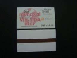 MEXICO - METRO - TICKET - DIA MUNDIAL VIH SIDA - World