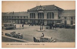 CPA - SAINT-ETIENNE (Loire) - La Gare De Chateaucreux - Saint Etienne
