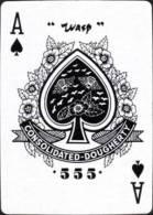 Gambling Poker Swap Playing Card Ace Of Spades #158 - Speelkaarten