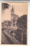 Poperinge, Poperinghe, Hoek der markt en stadhuis (pk16736)