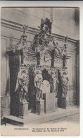 Poperinge, Poperinghe, biechtstoel van St Bertens Kerk confessionnal de l��glise Saint Bertin (pk16739)