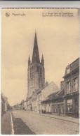 Poperinge, Poperinghe, Eglise Notre Dame, et rue de cassel, OL Vrouw kerk en casselstraat (pk16746)