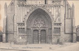 Poperinge, Poperinghe, Eglise Notre Dame portail (pk16747)