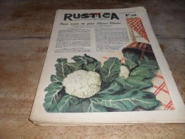 RUSTICA 27 Juin 1943 N°26 Pour Avoir De Gros Choux Fleurs - 1900 - 1949
