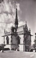 C P S M-C P M----37---AMBOISE---la Chapelle Saint-hubert.....--voir 2 Scans - Tours
