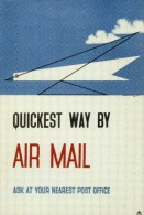 Postcard - Quickest Way By Air Mail (Edward McKnight Kauffer) - 1935. POST110/2488 - Postal Services