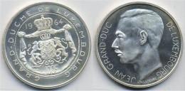 LUXEMBOURG 100 F 1964 ARGENTO SILVER JEAN GRAN DUC DE PESO 18g TITOLO 0,835 CONSERVAZIONE FDC UNC. - Lussemburgo