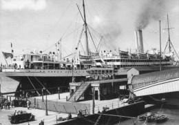 Postcard - Floating Post Office At Liverpool Docks - 1934. POST118/1073 - Postal Services
