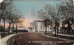 Mv12 United States Of America Kansas City Gladstone Boulevard At Scarritt Point - Kansas City – Missouri