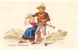 """03364 """"AUSTRIA  (ÖSTERREICH) -  TIROL - ÖTZTAL"""".  ANIMATA. INCISIONE  ORIGINALE A COLORI - Estampas & Grabados"""