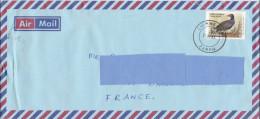 5] Enveloppe Cover Zambie Zambia Oiseau Bird Tarif C Rate Belle Oblitération Nice Cancellation - Zambie (1965-...)