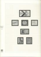 BRD Deutschland Safe 2213 Vordruckblätter 1975 - 1985 Gebraucht Ohne Marken - Pre-printed Pages