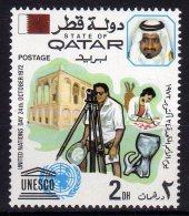 Qatar 1972 United Nations Day UNESCO Mint - Qatar