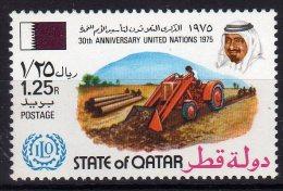 Qatar 1975 30th Anniversary United Nations ILO Mint - Qatar