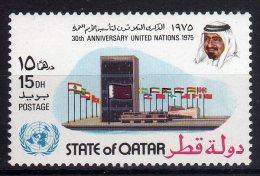 Qatar 1975 30th Anniversary United Nations Mint - Qatar