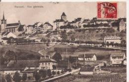 ROMONT 262 VUE GENERALE 1921 - FR Fribourg