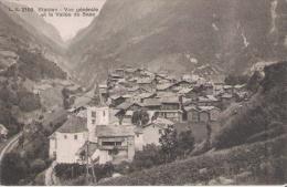 STALDEN 2100 VUE GENERALE ET LA VALLEE DE SAAS - VS Valais