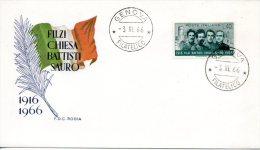 ITALIE. N°958 De 1966 Sur Enveloppe 1er Jour. Patriotes. - F.D.C.