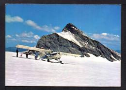 Cpsm G F.  1 AVION De Tourisme Au Glacier Des DIABLERETS. Petite Animation . - 1946-....: Ere Moderne
