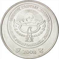 Kirghizistan, République, 5 Som 2008, KM 16 - Kyrgyzstan
