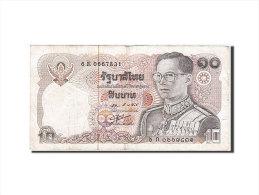[#257966] Thaïlande, 10 Baht, Type Roi Rama IX - Tailandia