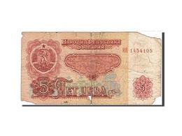 Bulgarie, 5 Leva, Type 1962 - Bulgaria