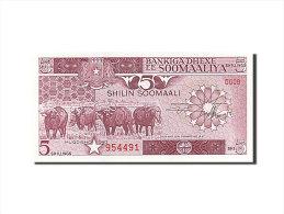 [#255803] Somalie, 5 Shillings, Type Loi Du 30 Décembre 1982 - Somalia