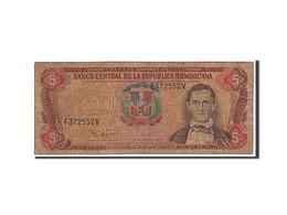 [#110138] République Dominicaine, 5 Pesos Oro Type 1995 - Dominicaine